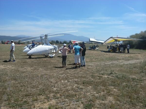 Επίσκεψη Γάλλων Αεραθλητών στην Αερολέσχη Αγρινίου στα πλαίσια του Αεροπορικού Τουρισμού